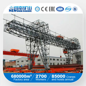 Remote Control Double Beams Mobile Gantry Crane pictures & photos