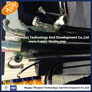 DIN En856 4sp High Pressure Hydraulic Rubber Hose and Hose Assembly pictures & photos