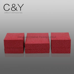Red Fancy Pearl Paper Jewelry Gift Packaging Box pictures & photos