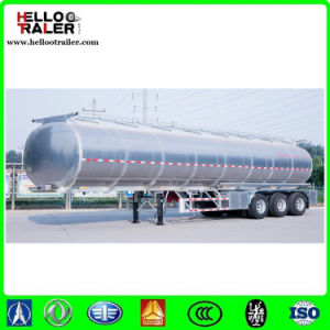 3 Axle 42000liters Aluminium Fuel Road Tanker Semi Trailers pictures & photos