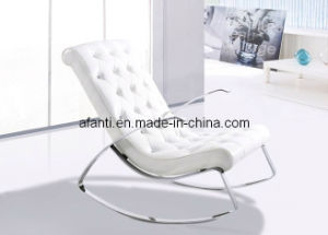 Ergonomic Modern Rocking Leather Leisure Lounge Chair (RFT-F6D) pictures & photos
