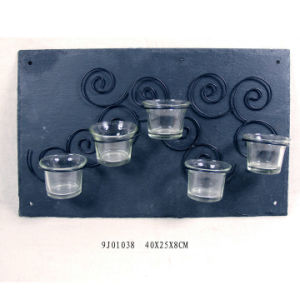 Hot Vintage Polyresin Candle Holder pictures & photos
