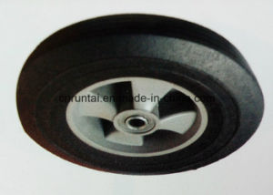 "10""X2.5"" Solid Rubber Wheel for Wheelbarrows or Barrows pictures & photos"
