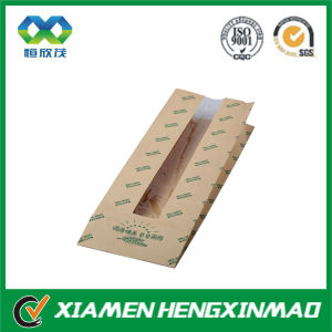 Food-Grade Kraft Paper Bag with Clear PVC Window
