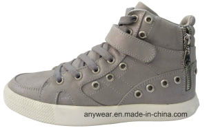 Women Gym Sports Shoes Skateboard Footwear Canvas Sneakers (515-2001) pictures & photos