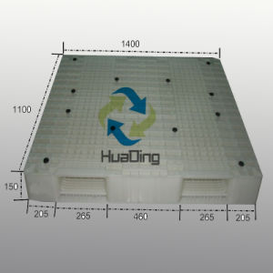 HDPE/PP Plastic Pallet with Double-Faced, Open Deck pictures & photos