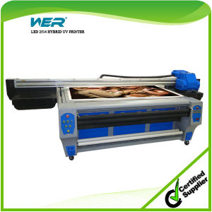 UV Printer 1.22m*2.44m with 2PCS LED Lamp & Epson Dx5 Heads 1440dpi pictures & photos