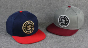 Fashion 3D Embroidery Baseball Track Flat Snapback Cap pictures & photos