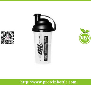 Cheaper 700ml BPA Free Fitness Shaker Bottle with Filter pictures & photos