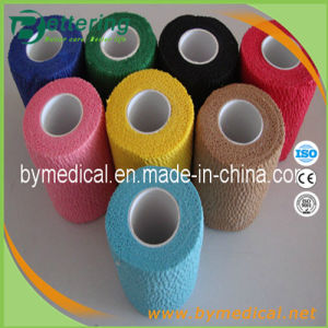 Easy Tear Cotton Cohesive Bandage CE Approved pictures & photos