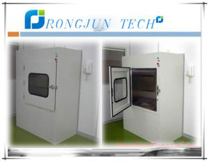 Airshower Transfer Box with Interlock Mode for Cleanroom pictures & photos