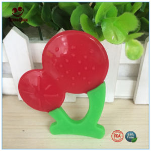 Dummy Cherry Silicone Teething Toy for Baby pictures & photos