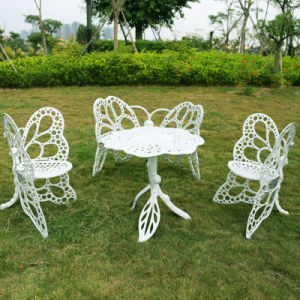 Butterfly Outdoor Chair and Table for Garden