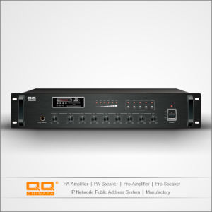 Lpa-500V 5 Zone Volume-Adjustable Mixer Sound Power Amplifier 400-600W pictures & photos
