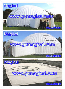 Popular Inflatable Dome Tent with Tunnel Door (MIC-820) pictures & photos