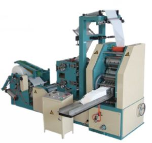 1/6 Two Pliess Napkin Paper Emboss Machine Folder pictures & photos