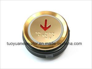 Xizi/Otis Push Button for Elevator Parts (TY-PB22B TITANIUM) pictures & photos