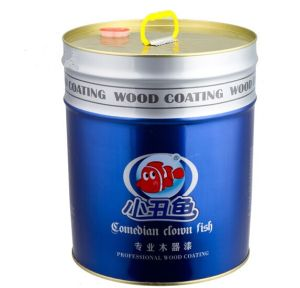 18L Round Tinplate Can Tin Paint Coating Lid