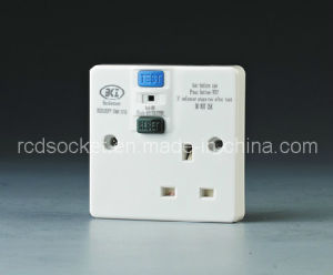 RCD Electrical Socket, Bs Standard pictures & photos