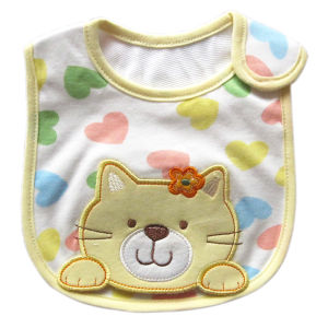 Hot Sale Best Quality Fashion Cotton Baby Bib pictures & photos