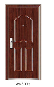 Steel Security Door (WX-S-115) pictures & photos