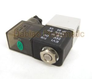 "1/8"" 2 Way Electric Pneumatic Air Solenoid Valve 2V025-06 AC220V pictures & photos"