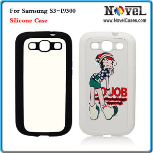 Sublimation Phone Case for Samsung S3 I9300/Silicon Phone Case for I9300