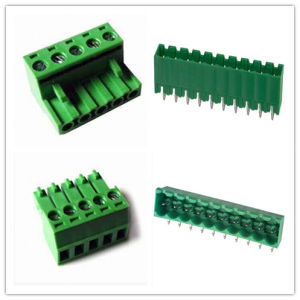 Pluggable PCB Terminal Connector (3.5mm 3.81mm 5.0mm 5.08mm) pictures & photos