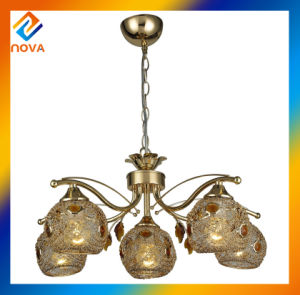 Tranditional Indoor Brass Chandelier Pendant Light pictures & photos
