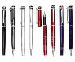 High Quality Metal Promotional Roller Pen Ball Pen pictures & photos