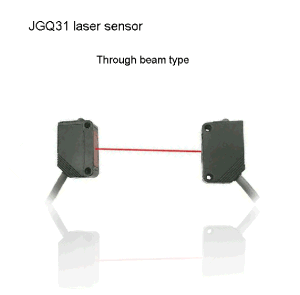 JGQ31 Long Sensing Range 50m Through Beam Type Laser Sensor