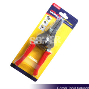 Electrican Use PVC Handle Wire Stripper (T03145)