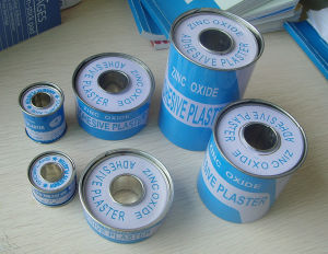 2016 Sells Well Zinc Oxide Plaster Medcial Adhesive Tape in Tin Pack pictures & photos