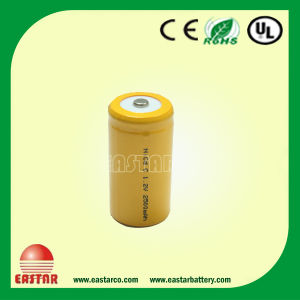 Top Quanlity Ni-CD Rechargeable Battery C 1.2V 2500mAh pictures & photos