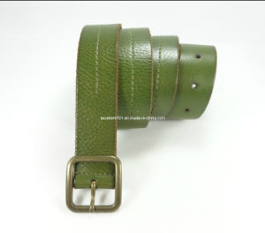 Classic Women Waist Belt of Full Grain Leather (EUBL0653-30)