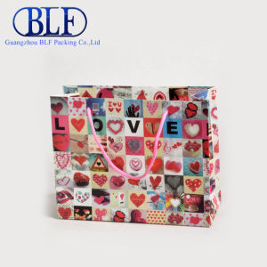 Luxury Wedding Gift Paper Jewelry Bags with PP Handle (BLF-PB084) pictures & photos