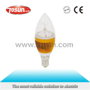 Tbc-C2-3W LED Bulb Light LED Candle Light/Lamp/ Bulb with CE RoHS Approval pictures & photos