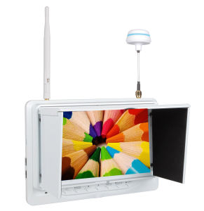 """Fpv 7"""" Outdoor Monitor Built in Battery and 32 CH Diversity Receiver pictures & photos"""