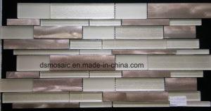 Rose Big Block Glass and Metal Mosaic Tile pictures & photos
