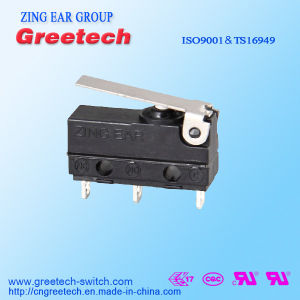 Zing Ear Sealed Mini Micro Switch for Car/Frying Pan/Lighting Equipment pictures & photos
