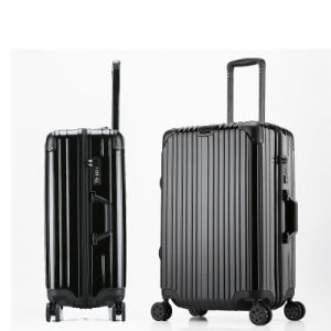 Fashion Suitcase Universal Wheel Zipper Password Waterproof Luggage pictures & photos