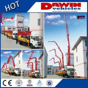 28m Concrete Boom Pump Truck China Supplier pictures & photos