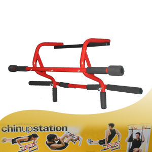 Fashion Red Door Gym Chin up/Pull up Bar Multi Gym