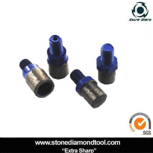 M12 Thread Diamond Drill Bit Tip for Grinder pictures & photos