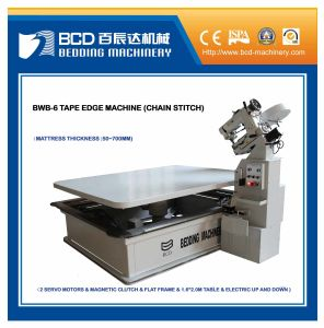 Fixed Table Tape Edge Machine (BWB-6) pictures & photos
