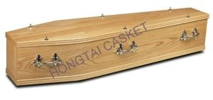 European Style Wood Coffins for The Funeral