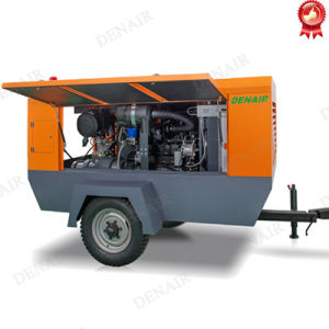 150 Psi High Pressure Portable Diesel Engine Driven Air Compressor pictures & photos