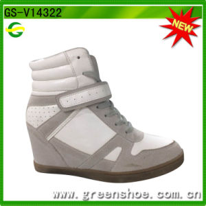 Hot Selling Women High Heel Sport Shoes pictures & photos