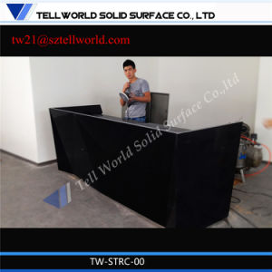 Tw Office Furniture Customed Reception Counter Desk pictures & photos
