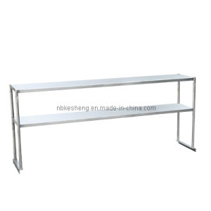 Stainless Steel Over Shelves/Double Over Shelves/NSF Certificate (KSOS-2460)